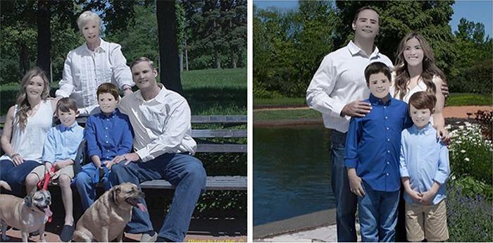 Fotografias wtf retratos familia zaring
