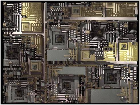 Fractales recurrentes de Jock Cooper