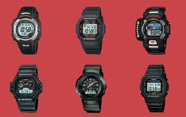 b9548fb6debc La historia de los resistentes relojes Casio G-Shock