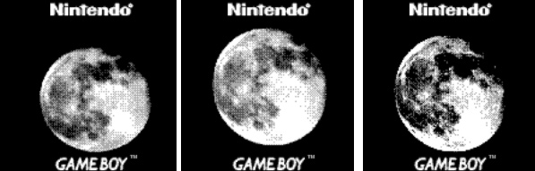 Game boy teleobjetivo luna