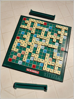 Geek Scrabble © Fatseth, reproducido con permiso