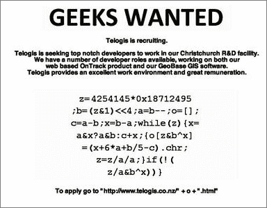 Geeks-Wanted