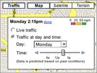 Google Maps, predicción del tráfico / LifeHacker