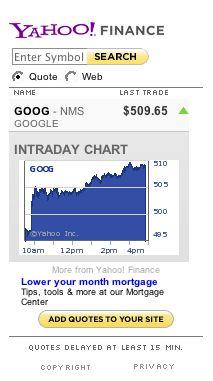 Google 500