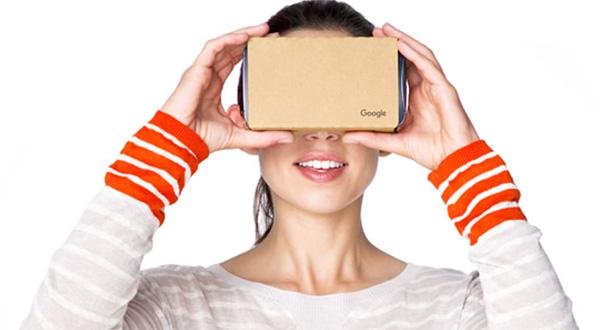 Google camera cardboard