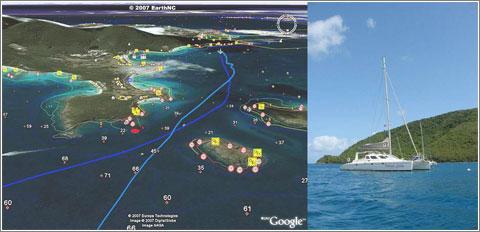 Google Earth Blog: Boating