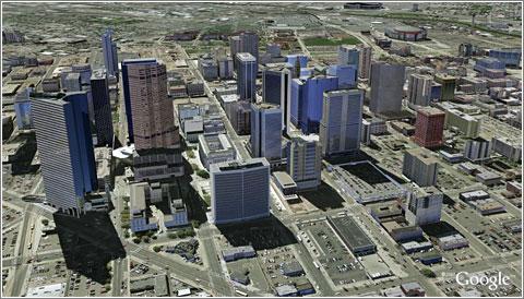 Google Earth: Denver 3-D