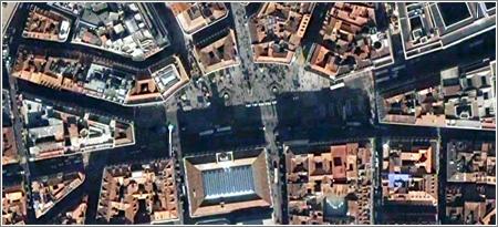 Google Earth: La Puerta del Sol
