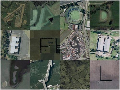 Tipografía con Google Maps