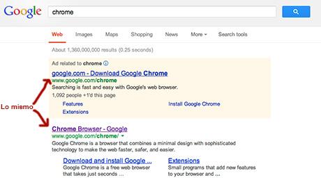 Google-Lomismo