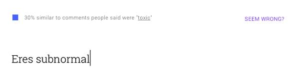 Google perspective toxico 1