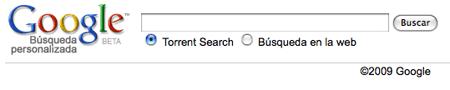 Google Torrent Search / Buscador de torrents desde Google