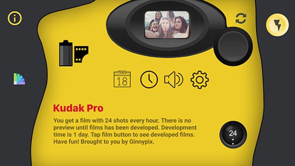 Gudak pro app camara desechable 0