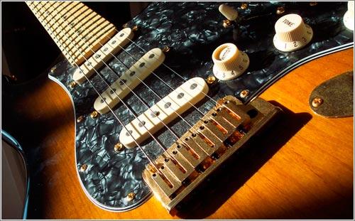 Guitar for Trey's CD cover (CC) Halseike @ Flickr