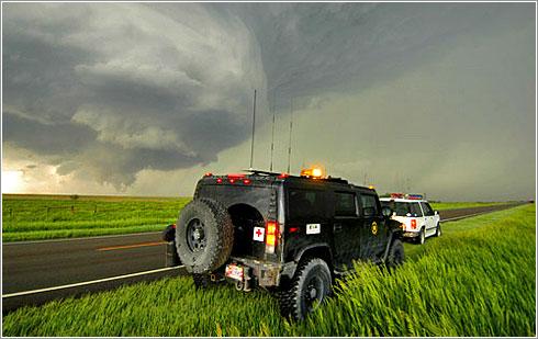 Hummer H2 Tornado Chaser