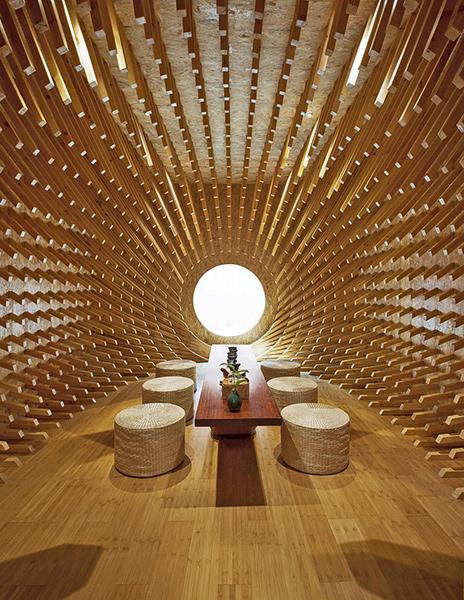 Habitacion capullo de madera 1