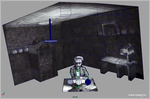 Habitacion de Escher en 3-D