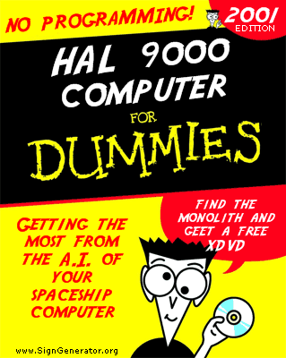 Hal 9000 for Dummies