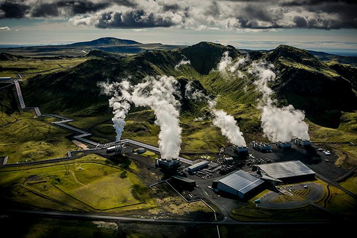Hellisheidi power plant arni saeberg