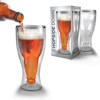 Hopside Down: El vaso con forma de botella