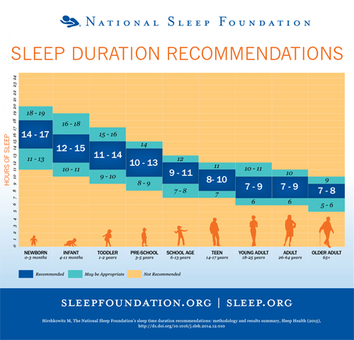 Horas Que Deberias Dormir