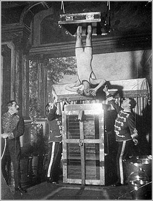 Houdini y la Camara Tortura China