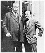 Houdini y Sir Arthur Conan Doyle