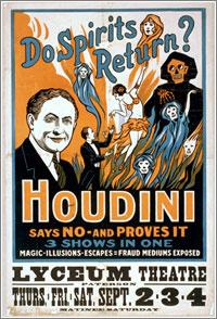 Houdini y los espiritistas