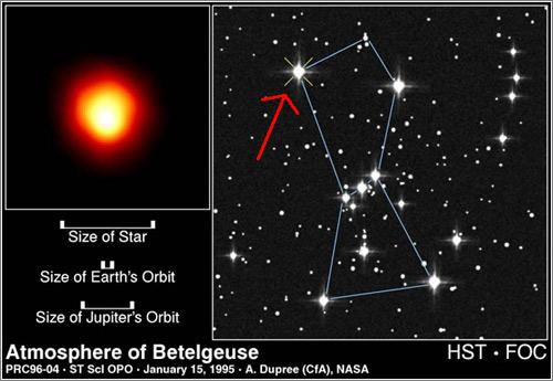 Hst Betelgeuse