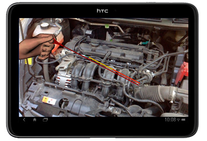 Realidad Aumentada» para la reparación y mantenimiento de vehículos