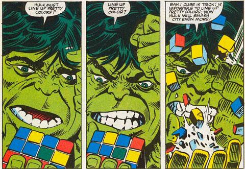 Hulk y Rubik ©Marvel probablemente