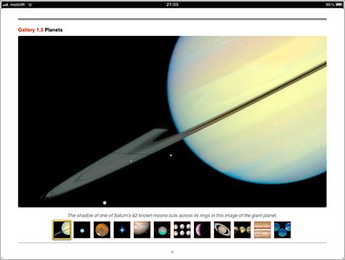 Saturno visto por el Hubble