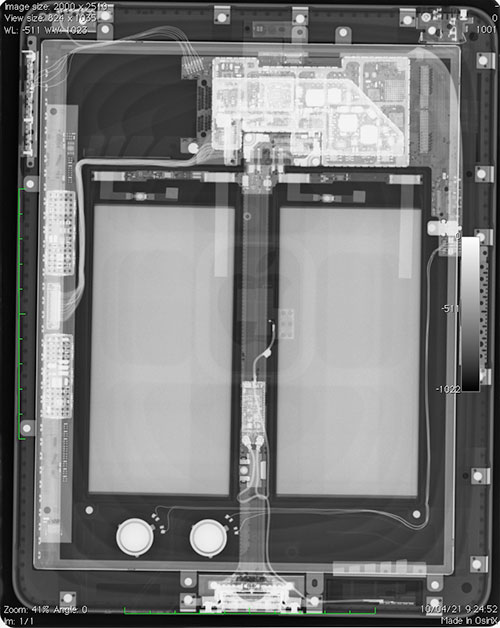 Radiografía de un iPad por Dr. ambition