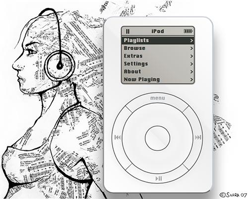 iPod original en HTML5 por Pritesh Desai