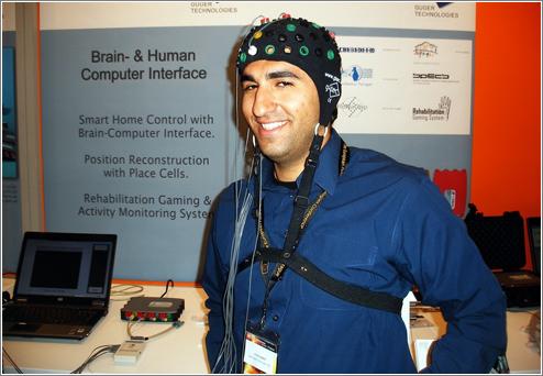 Un gorrito de interfaz cerebro-ordenador