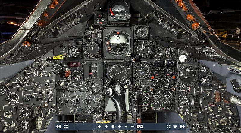 Interior cabina sr 71 1