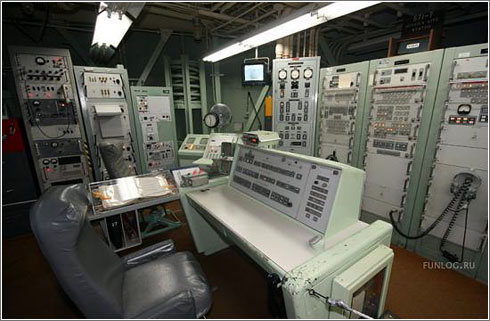 Interior de un silo de Misiles