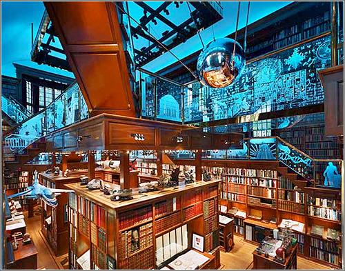 Biblioteca espectacular de Jay Walker