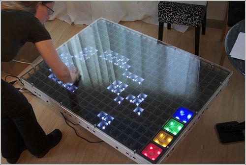Un «Juego de la vida» físico e interactivo