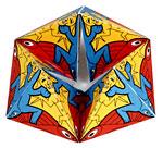 Kaleidociclo con imágenes de Escher