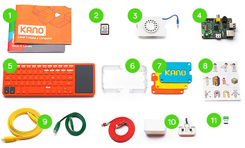Kano: el kit para construirse un ordenador en un rato libre