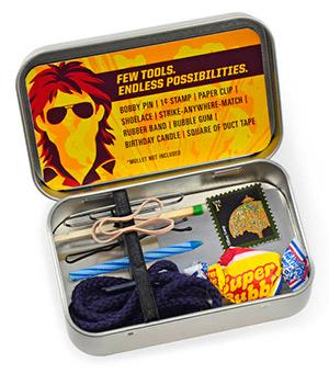 La mini caja de herramientas de un héroe de acción tipo MacGyver