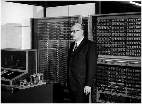 Konrad Zuse y su Z3 (1961)