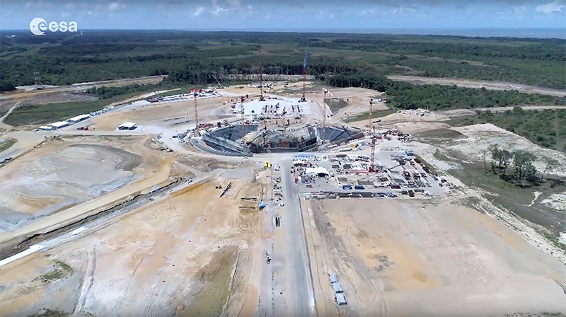 Kourour ariane 6 esa launch site