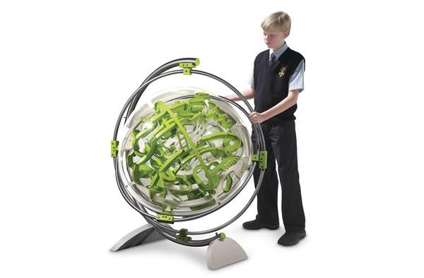 Laberinto 3d esfera