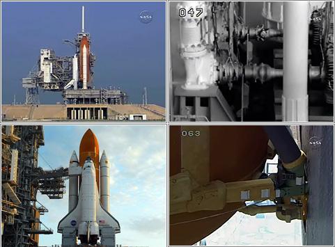 Lanzamiento del Endeavour: STS-118. Imágenes: NASA