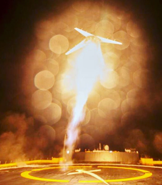 Lanzamiento spacex doblete