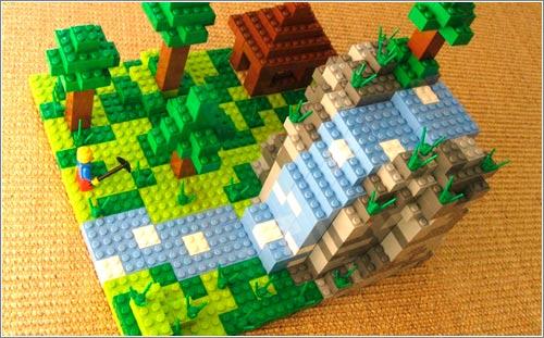 LEGO Minecraft en Cuusoo