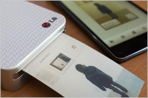 LG Pocket Photo, una impresora de bolsillo para imprimir desde el móvil