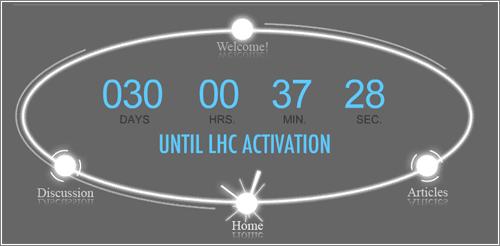 LHC Countdown
